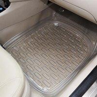 alfombrillas de auto 3d al por mayor-Esteras para el piso de auto de 5 piezas SET para las almohadillas de pie de PVC POLO Alfombras automáticas para todo clima Estilismo 3D para autos (2003-ahora)