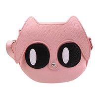 ingrosso telefono grande occhi-Donna Cartoon Big Eyes Phone Bag portatile singolo-spalla dei bambini Messenger Bag Mulit Stile nuova tendenza British Fashion Canta YL4