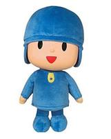 ingrosso doni pocoyo-Pocoyo Peluche Anime 25cm Pocoyo Personaggio dei cartoni animati Bambola di peluche Bambola Giocattoli per bambini Compleanno Regali di Natale