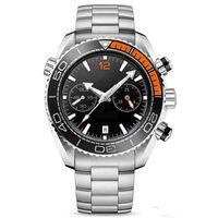 Wholesale cool mens digital watch resale online - All Dials Work Mens Watches Running Stopwatch Luxury Quartz Calendar Wristwatches Stainless Steel Cool Men Watch