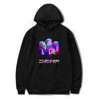 Wholesale color costume resale online - 2019 New Fashion Classic Gamer N64 Printing Pullover Sweatshirt Costume Hoodies Harajuku Plus Size Hoodie Hip Hop Streetwear