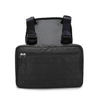ombros táticos venda por atacado-5 Cores Rig Bag Chest Bag Hip Hop Streetwear Tactical Preto Rig Molle Saco de Cintura Funcional Homens À Prova D 'Água Cross Shoulder Bags