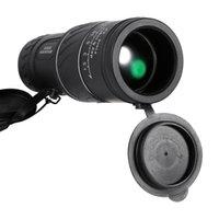 monocular de visión nocturna de bolsillo al por mayor-40x60 Clarity Hd Vision Telescopio de bolsillo Telescopio monocular de bajo nivel Visión nocturna nocturna Telescopio Óptica Verde T190627