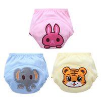 Wholesale cartoon diaper pants for sale - Group buy Baby Underwear Infant Girls Boys Training Pants Panties Children Cartoon Potty Leak proof Diapers underwear