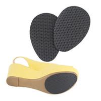 topuk kulpları toptan satış-Reçine Anti Slip Pad Zemin Tabanı Altında Sopa kaymaz Kauçuk Taban Koruyucuları Kendinden Yapışkanlı Ayakkabı Pedleri Yüksek Topuk Ayakkabı