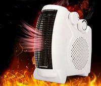 elektrische raumheizung großhandel-Mini Elektrische Warmluftgebläse Elektrische Lufterhitzer Winterraum Heizlüfter Wäschetrockner Überhitzungsschutz