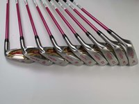 Wholesale golf clubs for sale - Group buy Women s Star Honma S Hardcore Golf Irons Honma Beres Golf Club AwSw Graphite Shaft with Head Cover