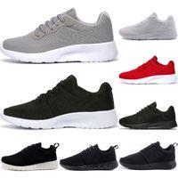 Wholesale rubber athletic outdoor shoes resale online - Original Tanjun Running Shoes Women Men triple black white grey pink london Athletic Outdoor Sneaker Outdoor Sport Shoes