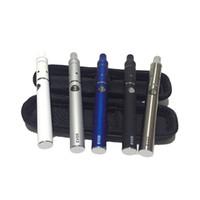 mini kit de iniciación atomizador electrónico al por mayor-Evod Mini AGO dab pluma kits cigarrillos electrónicos Cera atomizador pluma Kit hierba seca vaporizador hierba seca e cigarrillos e kits de inicio de cigarrillos