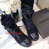 zapatos de diseño coreano al por mayor-Negro cuero auténtico talón puntiagudo motocicleta botas cortas de diseño de lujo de las mujeres Estilo de los zapatos de moda de Corea de las mujeres 09175