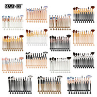 Wholesale maange makeup for sale - Group buy MAANGE Cosmetic Makeup Brushes Set Powder Foundation Eyeshadow Eyeliner Lip Brush Tool Brand Make Up Brushes Beauty Tools