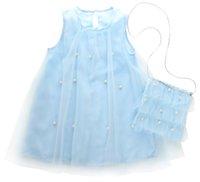 prinzessin tutu taschen großhandel-Neue Mode Pegeant Baby Mädchen Süße Prinzessin Sommer Party Nette Abendkleid Tüll Kleid Kleider Tasche Sommerkleid Kleidung