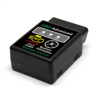 android obd2 adapter venda por atacado-HH OBD ELM327 Bluetooth OBD2 OBDII PODE BUS BUS Motor de Diagnóstico Do Carro Do Motor Ferramenta de Diagnóstico Adaptador de Interface Para Android PC