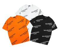 sıcak modlar toptan satış-Sıcak Erkekler T gömlek Marka MODE logosu Mektup Baskılı T-shirt Kısa Kollu Erkek kadın Hip Hop Sokak Açık giyim Stil Tops Tee