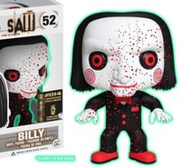 siehe spielzeug großhandel-Funko POP Stephen Kings Es Sah Billy Glows 52 # Crow 133 # Anime Figur Action Figure Hot Toys Puppe Neue Arrvial Kostenloser Versand
