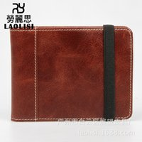Wholesale ultrathin pocket phone for sale – best Lucky2019 Of Layer Outermost Skin Doka Position In Fund Genuine Leather Ultrathin Wallet Card Set