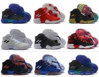 gute qualität marke sneaker großhandel-2019 neue Ankunft Pro Bounce Low Basketball-Schuhe für gute Qualität Multicolor Designer Schuhe Marke Turnschuhe Sport Herren Trainer EUR 40-46