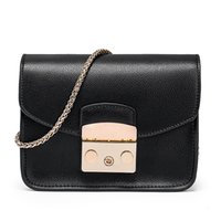 Wholesale new style handbags prices resale online - 2019 new women leather handbags British Style handbags designer style concise Stitching style Versatile cost price coolcasual