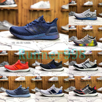 Wholesale ultra boost 4.0 for sale - Group buy Ultra Boosts Consortium Real Boosts Mens Running Shoes UltraBoosts Metallic Purple White Women Designer Sneakers