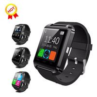 Wholesale u8 plus smartwatch online – U8 Smart Watch Smartwatch Wrist Watches with Altimeter and motor for iPhone S Plus Samsung S8 Plus S7 edge Android Apple Cell Phone