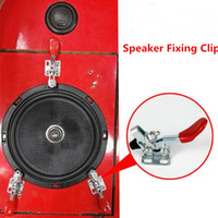 Wholesale test audio for sale - Group buy Pc Car Audio Speaker Fixed Clip Test Sound Clips Family Test Speaker Lossless Clip Speakers Clips