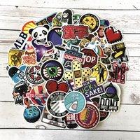 araba seramik etiketleri toptan satış-100 Adet / grup JDM DIY Karikatür Serin sticker Snowboard Dizüstü Bagaj Buzdolabı Araba-Styling Vinil Çıkartması Ev Dekorasyonu Için