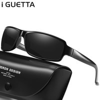 Wholesale marque sunglasses resale online - iGUETTA New Square Sunglasses Men Metal Polarized Vintage Designer Driving Driver Glasses Lunette De Soleil Homme Marque GH
