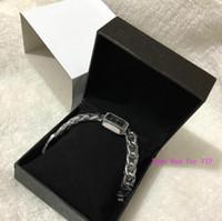 neue ankunfts-luxuxuhren frau großhandel-Neue Ankunft ~ klassische Art- und Weisefrauen-Armband-C-Uhr-Marken-Edelstahl-Luxusdame Wristwatch Classic Quartz Jewelry-Wölbungs-Parteigeschenk