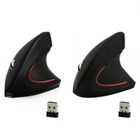 Wholesale computer engineering resale online - Rechargeable Wireless Ergonomic Vertical Mouse DPI Computer Micro USB Charge Optical Engineering PC Mice