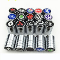 4 Tire Wheel Valve Screw Cover Caps for Ford Kuga Focus Ranger Car Truck Bike AU