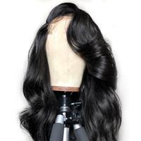 глушитель оптовых-Glueless Loose Wave Бразильские человеческие волосы парики Loose Deep Wave фронта шнурка и полный парик шнурка с волосами младенца для чернокожих женщин