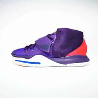 ingrosso scarpe di basket luminose-Halloween Luminous Kyrie 6s 6 Grand Viola Nero scarpe verdi di pallacanestro per l'alta qualità Mens Trainers vendita poco costosa delle scarpe da tennis Sport Dimensioni 7-12