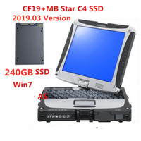 Wholesale mitsubishi work tools resale online - latest version V MB Star C4 SSD SD C4 Diagnostic Software work with diagnosis laptop for Panasonic toughbook cf19 G