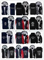 parlak tişörtüler toptan satış-2019 kış hoody raider ekibi logosu baskı Aydınlık Erkek kadın Sıcak Kalınlaşmak Hoodies sonbahar kaşmir giyim tişörtü Fermuar ceketler kapşonlu