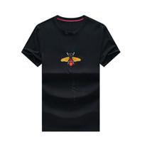 Wholesale new print mens polo shirt for sale - Group buy 19SS Mens Designer T Shirts New Monochrome Large Size Designer Polo Shirts Men Printing Letter Designer Shirt