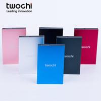 pc sabit diskler hdd toptan satış-TWOCHI 2.5 inç Taşınabilir Harici Sabit Disk USB2.0 HDD 500 GB Harici HD Sabit Disk PC Mac Masaüstü Laptop için Sunucu 6 Renk