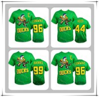 t-shirts groß großhandel-NWT 2019 Mighty Ducks Tees 96 CONWAY 99 BANKEN 44 REED T-Shirt Günstige Hockey T-Shirts Bedruckte Logos Big Tall Banner Gute Quanlity Größe S-3XL