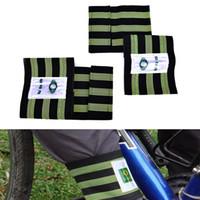 эластичный ремень велосипед оптовых-1 Pair Cool Change Cycling Bike Bicycle Bind Elastic Trousers Pants Band Clips Leg Strap