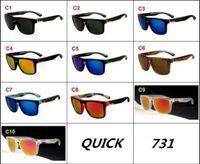 quecksilber sportbrillen großhandel-Heißer Verkauf Erstaunliche Bunte Druck Sport Sonnenbrille Für Männer Und Frauen UV400 Quecksilber Linsen Schnelles Design Sonnenbrille Outdoor Fahren Brillen