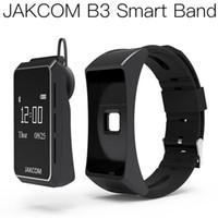pulseras de avion al por mayor-Reloj elegante JAKCOM B3 venta caliente en pulseras inteligentes como avión banda de pulsera de cardio telefonos Android