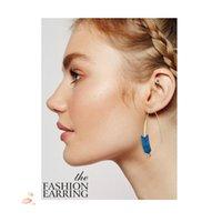 pendientes de aro únicos para las mujeres al por mayor-Arrow Threader Earrings Diseño único Dangle Hoops Crawler Climber Earrings Joyería de moda para mujeres niñas