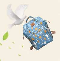 Wholesale baby diaper bags sale resale online - Hot sale Mummy Maternity Nappy Bag Large Capacity Baby Bag Travel Backpack Desiger Nursing Bag for Baby Care Diaper Bags