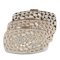 Wholesale hard line phone for sale – best SY2221 European and American popular logo cross border fashion diamond encrusted ladies banquet bag high end line handbag
