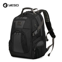 Wholesale waterproof business backpack for sale - Group buy Yeso Large Capacity Laptop Backpack Men Multifunction Waterproof inch Backpack For Teenagers Business Casual Travel Backpack Y19061004