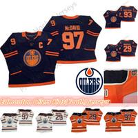 Wholesale connor mcdavid youth for sale - Group buy Edmonton Oilers Kids Youth Jerseys Connor McDavid Jersey Leon Draisaitl Ryan Nugent Hopkins Breathable Hockey Jerseys