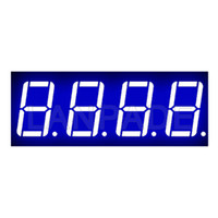 lider ekran segmentleri toptan satış-7-Segment 0,56 inç 4 Haneli Mavi CA Display 7seg Yedi Seg Şekil-8 DHL Ücretsiz Kargo LED