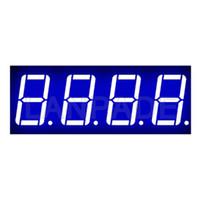 segmento de exibição led venda por atacado-LED 7 segmentos 0.56 polegadas 4 dígitos azul CA Display DHL frete grátis