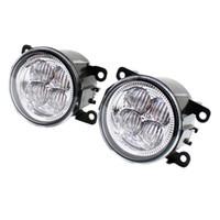 pára-choques opel venda por atacado-Amortecedor dianteiro luzes de nevoeiro LED de alto brilho DRL Driving nevoeiro 1set lâmpadas para OPEL ASTRA H GTC 2005-2015