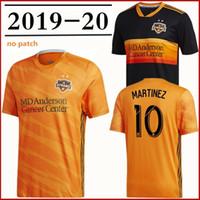 parches de la camisa de los hombres al por mayor-Hombres Houston Dynamo Orange 2019 Camiseta primaria Martínez Beasley Manotas Elis Quioto sin parche Versión para fanáticos Camisetas de fútbol