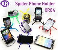 aranha do suporte do iphone venda por atacado-600pc Variedade Suporte Do Telefone Móvel Suporte Do Telefone Do Carro Universal Aranha Telefone Móvel Preguiçoso Conveniente Suporte De Cor Para iPhone / i9100 / i9220 / Millet